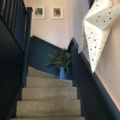 Brimfields_Staircase_Farrow and Ball_Hague Blue_2_600